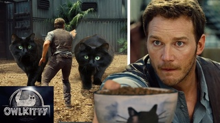 Jurassic World — with Cats (OwlKitty)