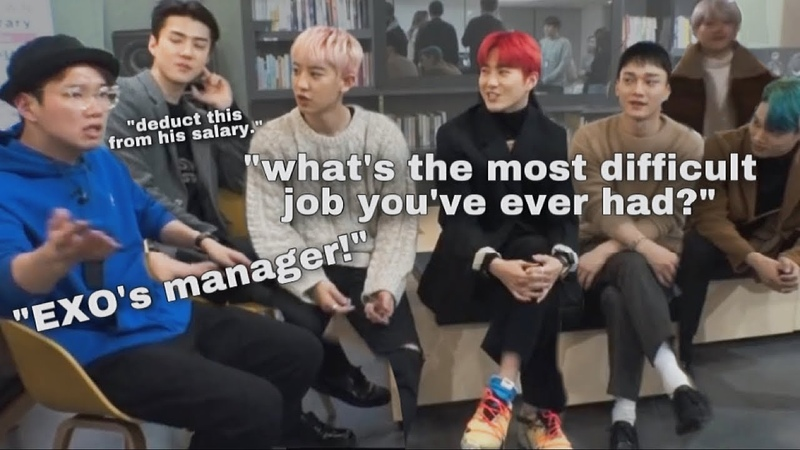EXO 's manager has the most difficult job in the world
