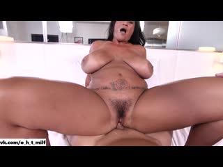 Сочная жопастая милфа Kailani дала выебать себя во ве дырки[sex Milf hardcore porn ass anal pusy tit anal milf минет