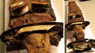Вещество возрастом 7 миллиардов лет и странный меч 14 века. Самые необычные находки