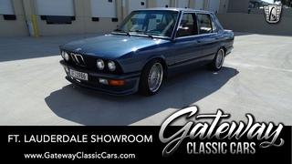 1986 BMW 535i Gateway Classic Cars of Ft. Lauderdale #1061