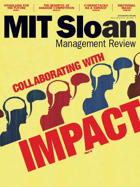 MIT Sloan Management Review Fall 2019
