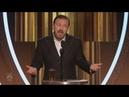 Все шутки Рики Джервейс на Золотом Глобусе 2020 русские субтитры