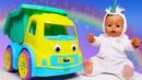 Весёлые игры для детей - Кукла БЕБИ БОН и Живой Грузовичок! - Лучшие мультики для малышей.