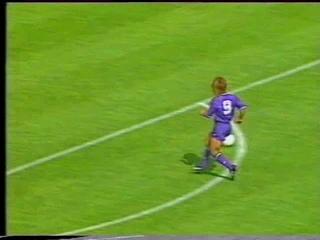 Channel 4 Football Italia Live 1992-93 Fiorentina v Foggia_Peter Brackley