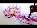 How to paint a jellyfish using inks or watercolors | Wet to Wet Technique