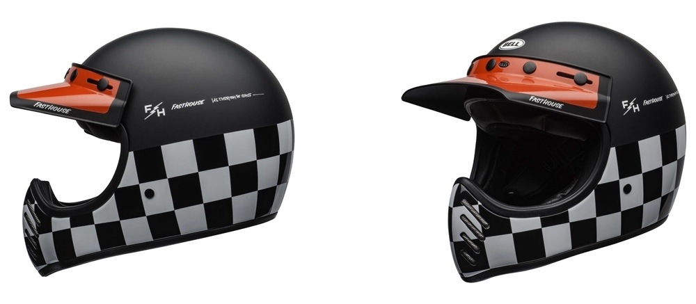 Мотошем Bell Moto-3 Fasthouse Checkers