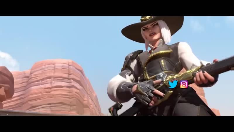Overwatch Song   Wild Wild West (Ashe Song)   NerdOut! ft Halocene I RUS VERSION