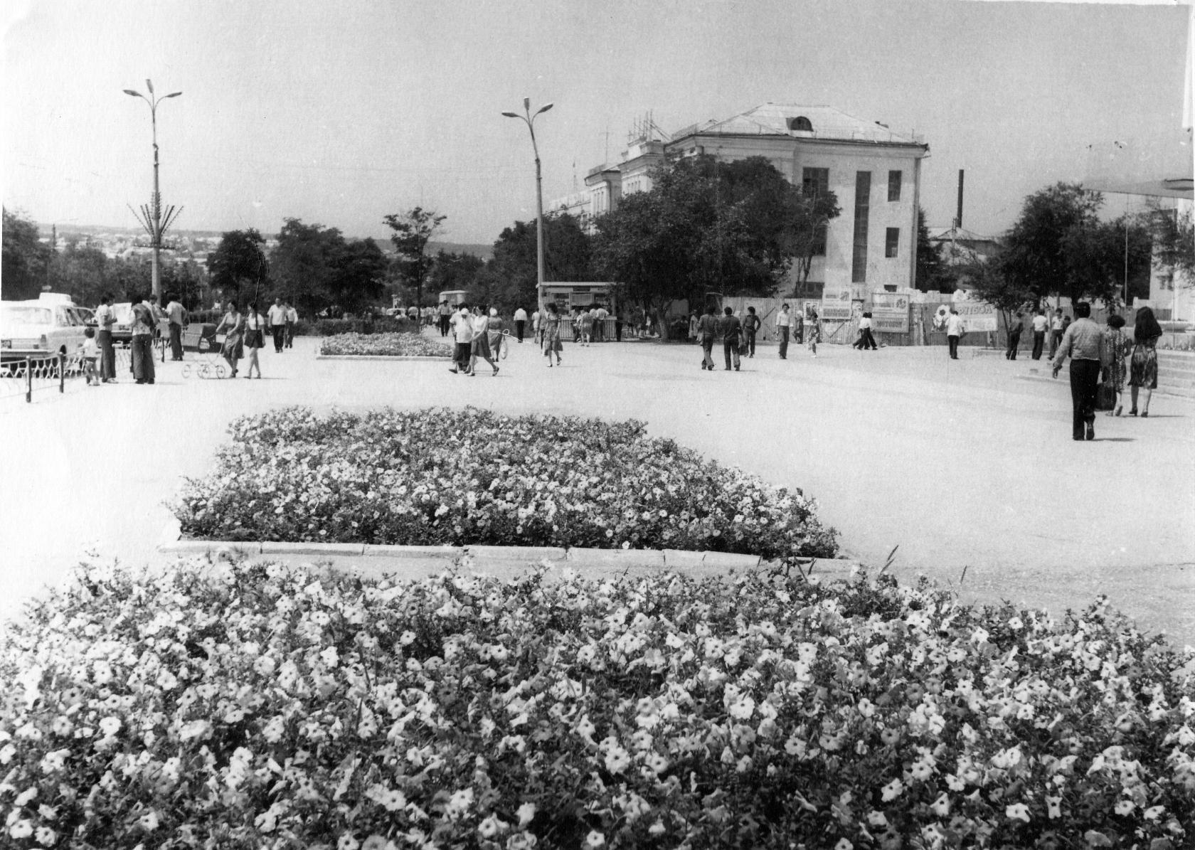 Гостиница «Россия». 1978 год. Калмыкия-online.ру
