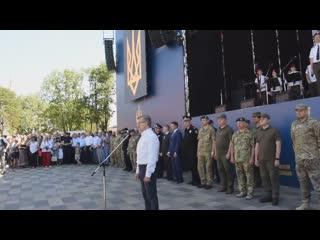 Тарута в оккупированном Мариуполе дважды назвал укрофашистов боевиками )))