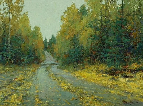 Юрий Васендин  современный художник родом из Архангельска (1958 г