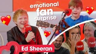 Ed Sheeran surprises 10-year-old superfan Rafa | Heart