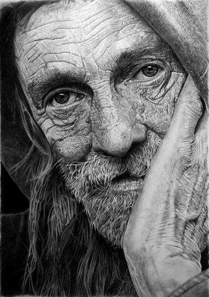 Карандашный гиперреализм Франко Клуна Итальянскому художнику Franco Clun исполнилось уже 50 лет, а рисование по-прежнему остается обычным хобби. Хотя, мы уверены, с таким талантом он мог бы