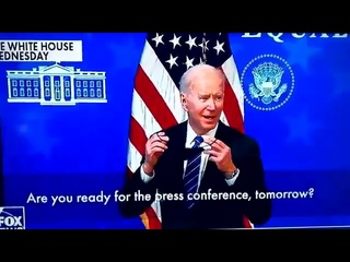 Biden is Asked If He's Ready for His 'First Press Conference' - His Reaction is Hilarious