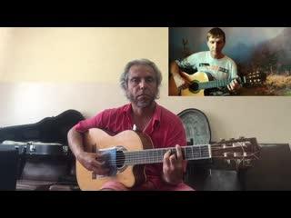 Rammstein - Fruhling in Paris-(cover)-Garri Pat  Зеленыи гитарист