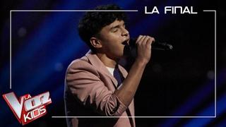 Manuel Ayra canta 'Te extraño'   Final   La Voz Kids Antena 3 2021