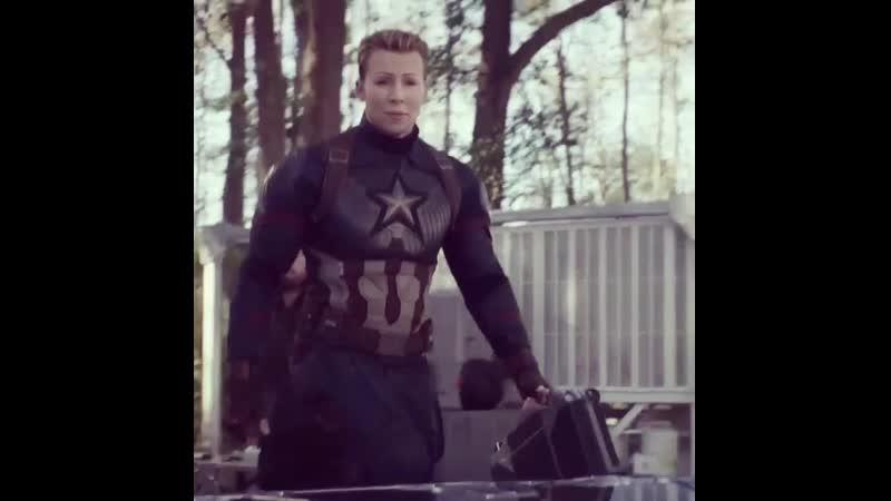 Ты Капитан Америка человек вне времени