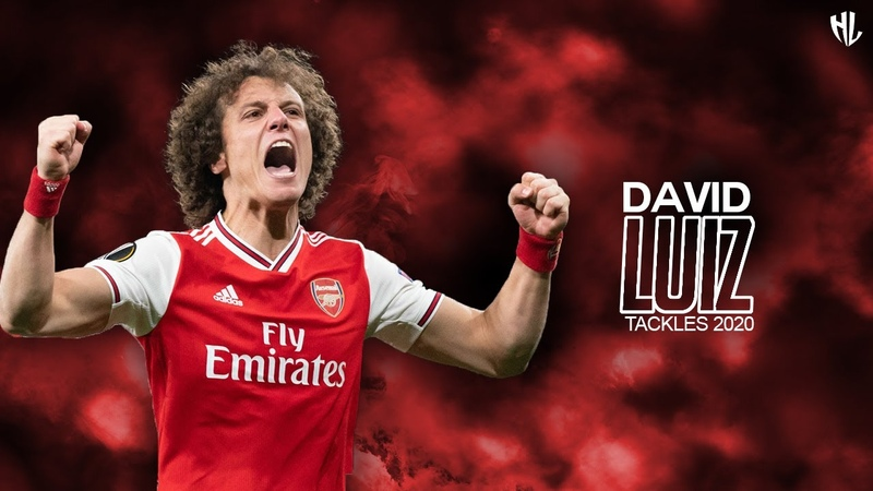 David Luiz 2020 Arsenal Tackles Defender Skills HD