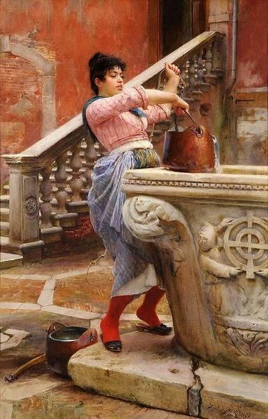 Художник Людвиг Пассини: маэстро акварели. Ему рукоплескали Венеция и Рим, его акварельные картины восхищали мюнхенцев и парижан. Алмаз его таланта, обнаруженный выдающимся педагогом Венской