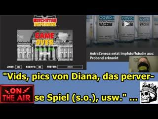 Vids, pics von Diana, das perverse Computer-Spiel, usw.