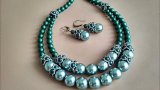 A set of jewelry. Украшения. МК шапочки для бусин