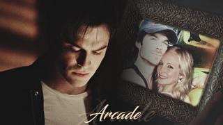●  Arcade  ll  Damon and Caroline (for Tigger Davis)