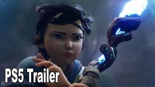 Kena Bridge of Spirits - Reveal Trailer PS5 [HD 1080P]