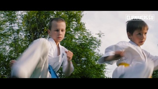 Социальный мотивирующий рекламный ролик школы каратэ в Сочи