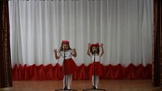 """Дуэт Пуцелева Алиса и Артеменко Милена (""""Мама"""", сл.и муз. Б.Мамраева)"""