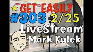 #303 Learn English - Get Easily | Mark Kulek ESL LiveStream Lesson - Learn English