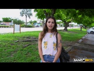 Sofie reyez - money loving latina takes a ride [blowjob, brunette, hardcore, amateur, latina, young, doggystyle, 1080p]