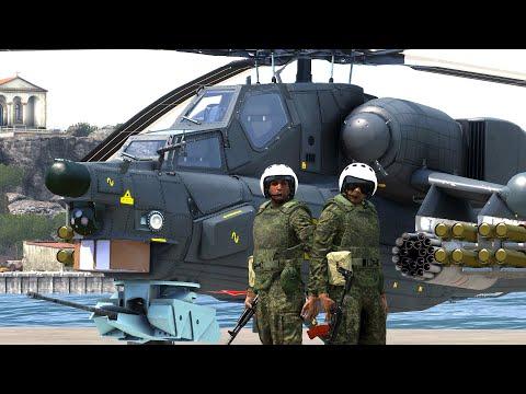 Сами по себе Ми 28Н ArmA 3 Серьёзные Игры на Тушино