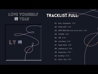 [Full Album] 방탄소년단 (BTS) - Love Yourself 轉 Tear Comeback Fake Love Fake Album😀
