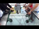 THE WORLD LARGEST 4K MULTI-TOUCH TRANSPARENT TABLE
