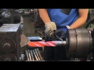 Невероятный Процесс Производства Сверл, а также других изделий из Металла