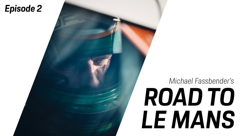 Michael Fassbender Road to Le Mans Season 2 Episode 2 New Year New Series