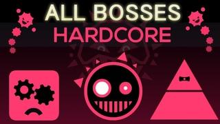 Just Shapes & Beats - Hardcore - All Bosses (S Rank)