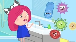 Почему нужно мыть руки? Развивающие мультики для детей. Смарта и чудо-сумка