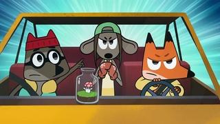 Мультфильм Лекс и Плу: Космические таксисты - 4 серия HD