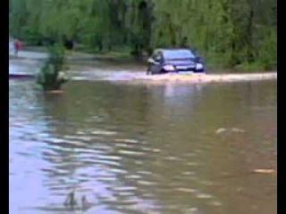 Горячий Ключ потоп на ул.Кубанская