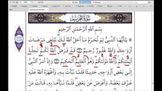 "Сура 66 «Ат-Тахрим ""Запрещение""» 2 аят | Абу Имран | Таджвид | Коран |"