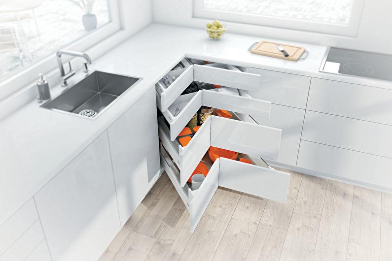 Тумбочки на кухне