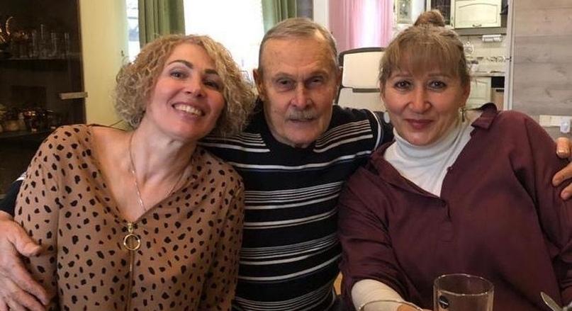 С Галиной Оноприенко и Натальей Цыганковой