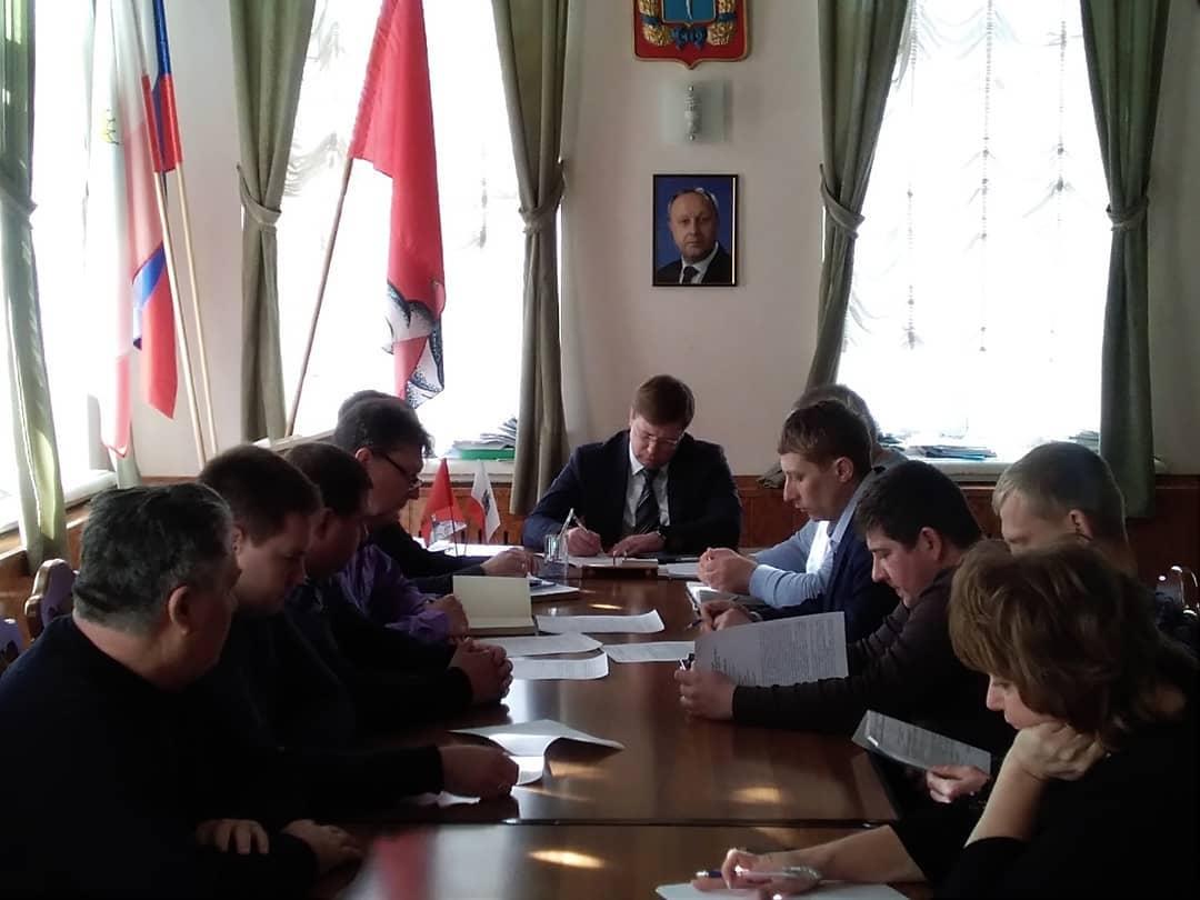 Внеочередное заседание КЧС состоялось сегодня в администрации Петровского района