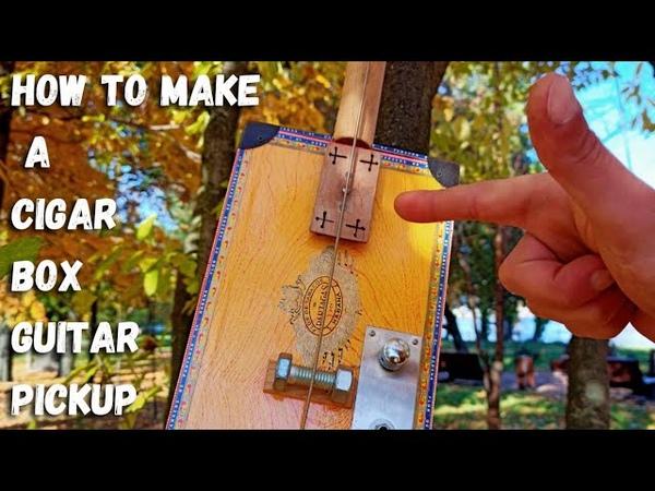 How to make a cigar box guitar pickup