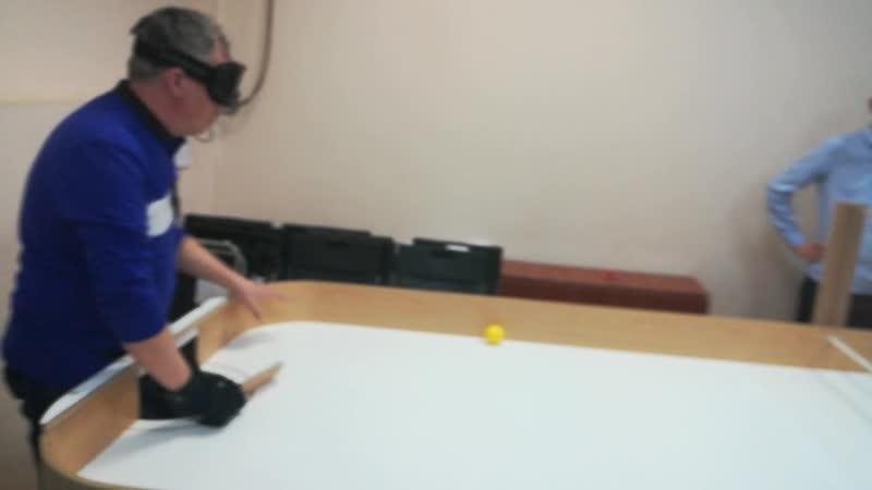 Слепой теннис-6