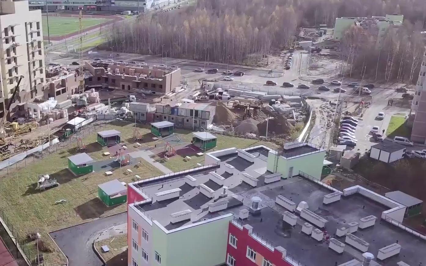 На Дядьковской в текущем году будет завершено строительство двух детских садов
