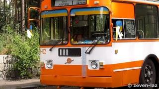 Черкасский троллейбус- ЗиУ-682ГН №У-02, Август 2014