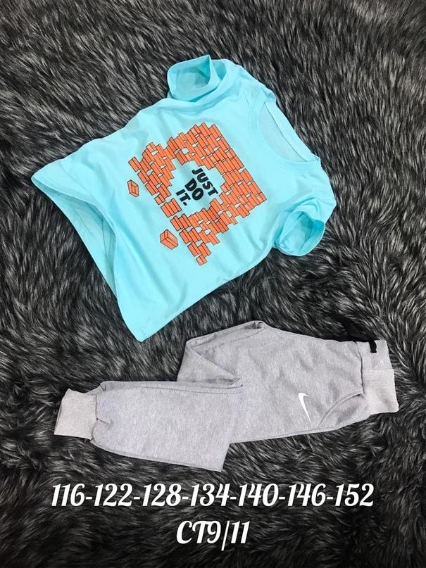 NEW  Размер : 116,122,128,134,140,146,152см Стильные брендовые костюмы хлопок 100%Новинка