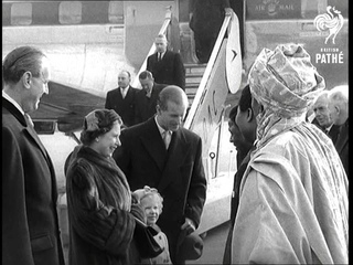 Selected Originals The Queen Is Home Aka Queen And Duke Arrive From (1956)